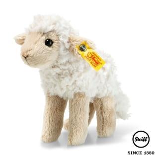 【STEIFF德國金耳釦泰迪熊】小綿羊 Flocky Lamb(動物王國_黃標)