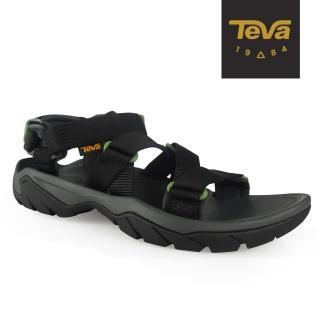 【TEVA】原廠貨 男 Terra Fi 5 Sport 戶外健行運動涼鞋/雨鞋/水鞋(黑-TV1099441BLK)
