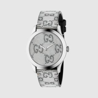 【GUCCI 古馳】G-TIMELESS浮動3D時尚腕錶(1264058)