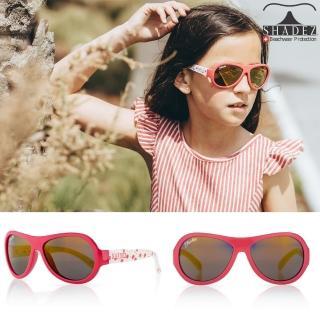 【瑞士SHADEZ】兒童太陽眼鏡 可口草莓 7-15歲(台灣製造 鏡架可彎)