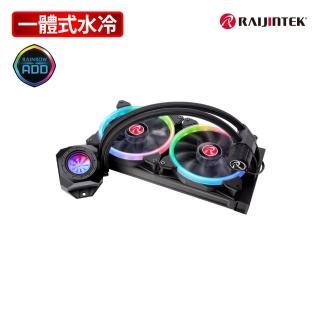 【RAIJINTEK】ORCUS 280 RBW RGB一體式液態散熱器-280mm
