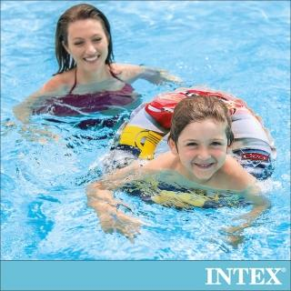 【INTEX】麥坤CARS-游泳圈51cm_適用3-6歲(58260)