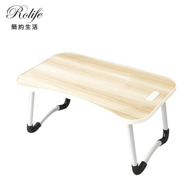 【RoLife】秒收納萬用多功能折疊簡易書桌(60x40 電腦桌/床上桌/筆電NB桌/懶人桌/邊桌/摺疊桌/升降桌)
