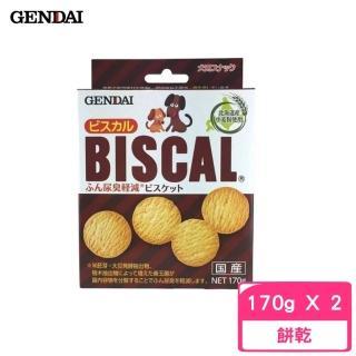 【GENDAI 現代】BISCAL 必吃客消臭餅乾 170g(2入組)