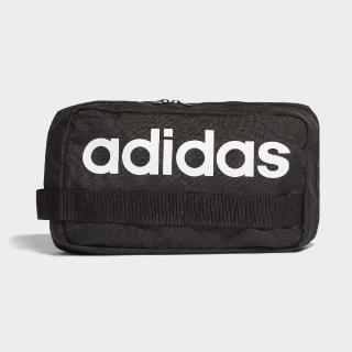 【adidas 愛迪達】斜背包 Linear Core Cross Body 愛迪達 輕便 外出小包 穿搭推薦 黑 白(DT4823)