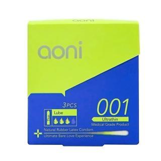 【aoni】愛引力 001保險套(3入裝)