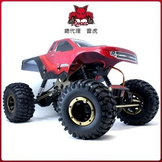 【Redcat Racing】EVEREST-10 1/10四驅攀岩車 紅黑 6050RT-10681(攀岩車)