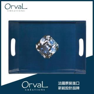 【MioMall 米歐廣場】奧芙Orval 法國品牌設計 - 托盤/造型盤/衛浴收納盤(蔚藍海洋之心)