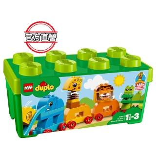 【LEGO 樂高】得寶幼兒系列 我的第一個動物顆粒盒 10863 積木 幼兒(10863)