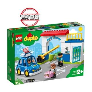 【LEGO 樂高】得寶幼兒系列 警察局 10902 積木 幼兒(10902)