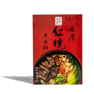 【阿舍食堂】究濃紅燒牛肉麵(425gx1盒)