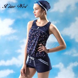 【SARLEE 沙麗】時尚流行兩件式連身褲款泳裝(NO.19110)