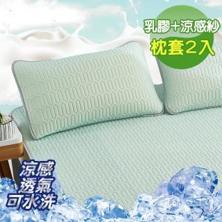 【加購】完美(頂級新一代泰國可水洗乳膠枕套2入組)