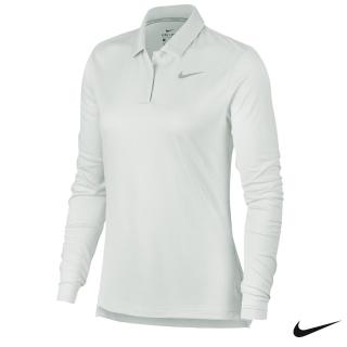【NIKE 耐吉】Dry Long-Sleeve Golf Polo 女子高爾夫長袖Polo 929536-100