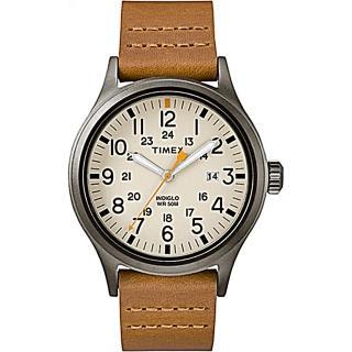 【TIMEX】天美時復古探險腕錶-駝色(TXTW2R46400)