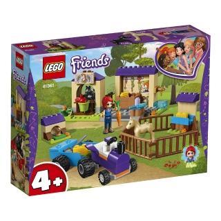 【LEGO 樂高】LEGO Friends 米雅的馬棚 41361 積木 女孩(41361)