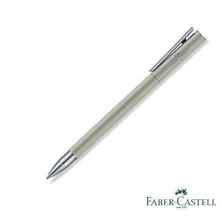 【Faber-Castell】SLIM NEO 銀灰白夾 鋼珠筆