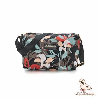 【冰山袋鼠】楓糖瑪芝-輕旅防潑水側背小包-熱帶雨林(001)