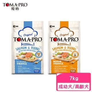 【TOMA-PRO 優格】成幼犬│高齡犬─鮭魚馬鈴薯配方 7kg