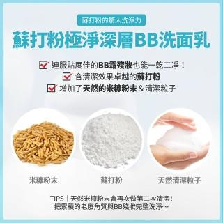 【ETUDE HOUSE】蘇打粉 極淨深層BB洗面乳160ml(三件組)