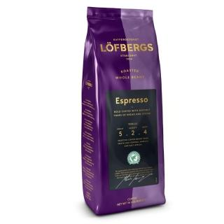 【Lofbergs】瑞典皇家咖啡豆Espresso深烘焙雨林聯盟(400g)