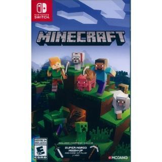 【Nintendo 任天堂】NS Switch 我的世界 中英日文美版(Minecraft)