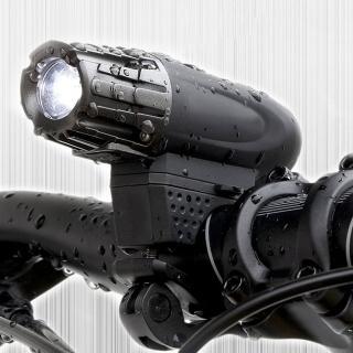 【MACHFALLY】極光充電式自行車前後燈組(防水 一燈多用可當手電筒)