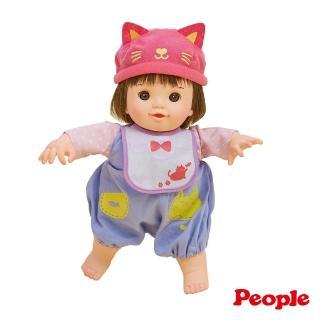 【POPO-CHAN】貓咪帽POPO-CHAN(培養幼小母性的知育洋娃娃)