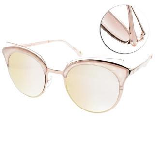 【CARIN】潮流造型貓眼款(珍珠粉玫瑰金-淺黃水銀#RIMPTON C2)