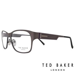 【TED BAKER】倫敦玩酷金屬風格光學眼鏡(TB4189-913·午夜藍)