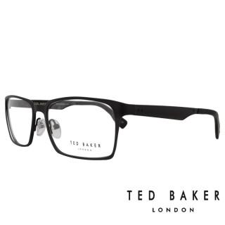 【TED BAKER】英倫簡約個性造型光學鏡框(TB4193-137·咖啡)