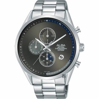 【ALBA】雅柏 Tokyo Design 原創計時手錶-44mm(VD57-X135D  AM3595X1)