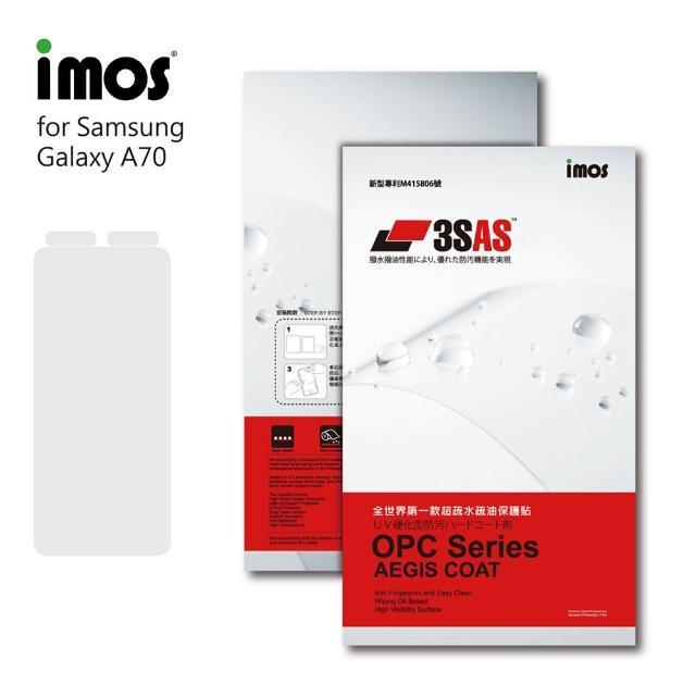 【iMos】SAMSUNG Galaxy A70(3SAS 螢幕保護貼)