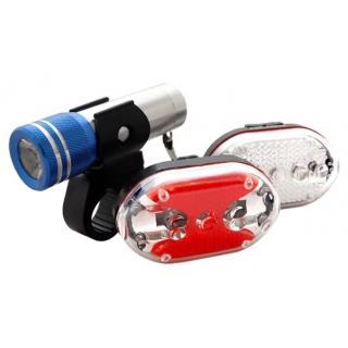 【KINYO】25W高亮度自行車燈組(自行車燈)