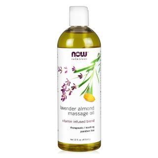 【NOW】薰衣草杏仁按摩油Lavender Almond Massage Oil(16 oz / 473 ml)