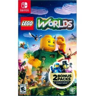 【Nintendo 任天堂】NS Switch 樂高世界 中英日文美版(LEGO WORLDS)