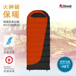 【Chinook】Flame500火焰信封登山露營睡袋20171(信封睡袋)