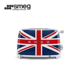 【SMEG】2片式烤麵包機-英國國旗(TSF01UJUS 公司貨)