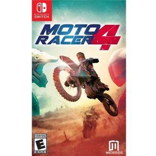 【Nintendo 任天堂】NS Switch 摩托英豪 4 英文美版(Moto Racer 4)