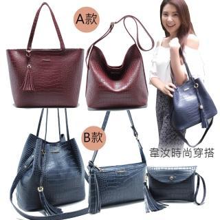 【韋汝愛用包款】日韓流行超值肩背包/手提包/側背包(多款可選)