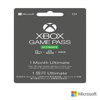 【Microsoft 微軟】1個月Xbox Game Pass終極版(下載版 購買後無法退換貨)