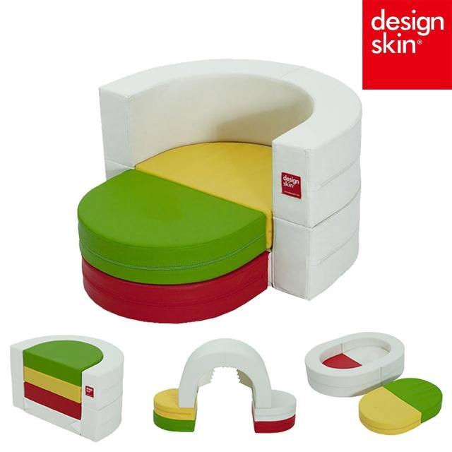 【韓國design skin】兒童圓形蛋糕沙發椅(球池樂園 收納 書桌椅 餐桌椅 畫畫桌 幼兒 寶寶)