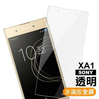 XA1 透明 9H 鋼化玻璃膜(Sony Xperia xa1 手機螢幕 鋼化膜 保護貼)