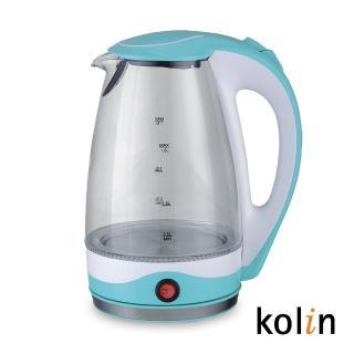 【Kolin 歌林】1.8L玻璃保溫快煮壺(KPK-DL1805G)