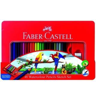 【Faber-Castell】水性色鉛筆48色(115939)