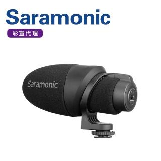 【Saramonic 楓笛】輕量化指向性電容式外接麥克風CamMic(彩宣公司貨)