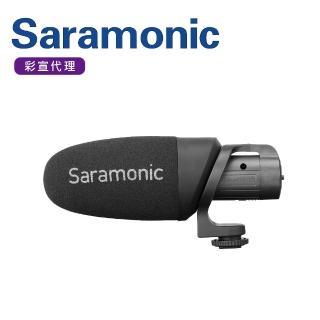 【Saramonic 楓笛】輕量化指向性電容式麥克風CamMic+(彩宣公司貨)