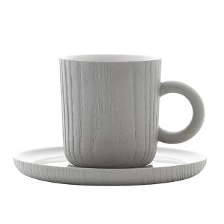 【TOAST】MU 濃縮咖啡杯盤組_灰