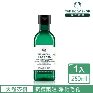 【THE BODY SHOP 美體小舖】茶樹淨膚調理水(250ML)