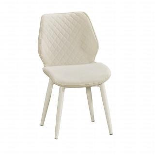 【H&D】妙蛙白色皮餐椅(餐椅 椅)
